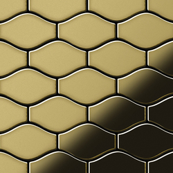 Karma Brass Tiles | Metall Mosaike | Alloy
