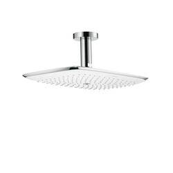 Hansgrohe PuraVida Overhead Shower 400mm DN15 with 100mm ceiling connector | Shower taps / mixers | Hansgrohe