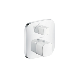 Hansgrohe PuraVida Thermostat for concealed installation with shut-off valve | Shower taps / mixers | Hansgrohe