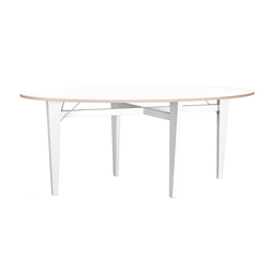 Kryss Dinner & Conference Table | Meeting room tables | Lillian Öberg