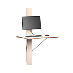 Log I Work Desk | Standing desks | Lillian Öberg