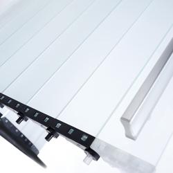 RAUVOLET vetro-line | Porte a serranda | REHAU