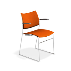 Curvy 3287/10 | Visitors chairs / Side chairs | Casala