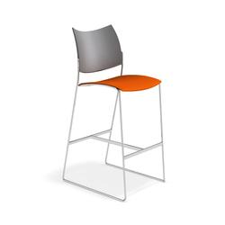 Curvy Barstool 1289/07 | Bar stools | Casala