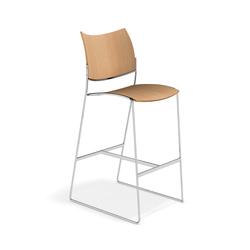 Curvy Barstool 3288/07 | Bar stools | Casala