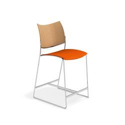 Curvy Barstool 3289/06 | Bar stools | Casala