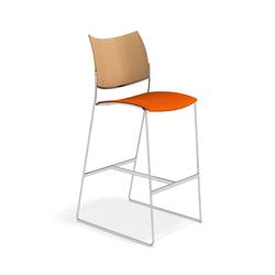 Curvy Barstool 3289/07 | Bar stools | Casala