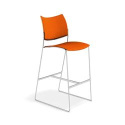 Curvy Barstool 3287/07 | Bar stools | Casala