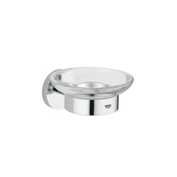 Essentials Glass holder with soap dish | Porte-savons | GROHE