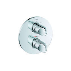 Veris Thermostat with integrated 2-way diverter | Bath taps | GROHE