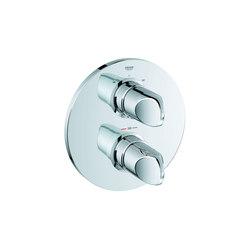 Veris Façade pour mitigeur thermostatique 2 sorties | Robinetterie pour baignoire | GROHE