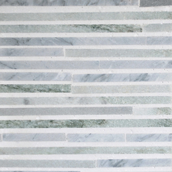 Katami Stone Crowned Kinglet | Mosaïques en pierre naturelle | Complete Tile Collection