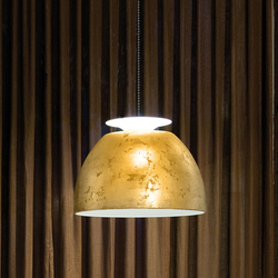 Bossa Gold pendant light | Suspended lights | Lumini