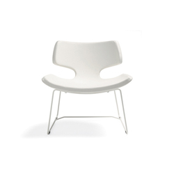 Bone easy chair | Poltrone lounge | Materia