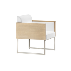 Box Lounge 741 | Lounge chairs | PEDRALI