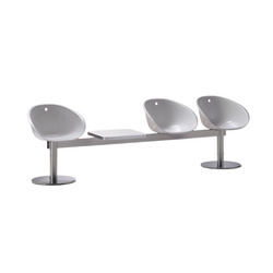 Gliss 945 | Beam / traverse seating | PEDRALI