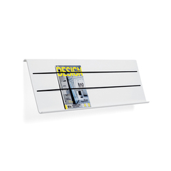 Cord magazine holder | Brochure / Magazine display stands | Materia