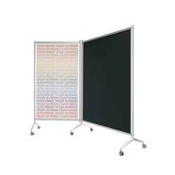 Screen Aluminium partition | Space dividers | Planning Sisplamo