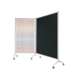 Screen Mampara modular | Separación de ambientes | Planning Sisplamo