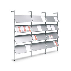 Ten Modular system | Brochure / Magazine display stands | Planning Sisplamo