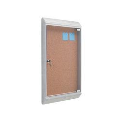 "Z 765 VP Vitrina ""Zénit"" con puerta abatible | Pizarras | Planning Sisplamo"