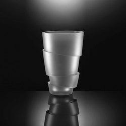 Armadillo | Vase crystal | Vasen | Anna Torfs