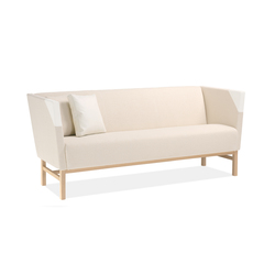 Minimal 3-seater sofa | Sofás lounge | Materia