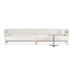 Minimal 6-seater sofa | Lounge sofas | Materia