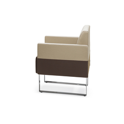 Monolite easy chair | Fauteuils d'attente | Materia