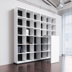 basic S Shelf system | Office shelving systems | werner works