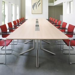 Audience conference table | Tavoli contract | Haworth