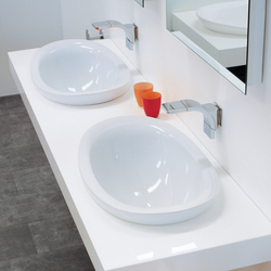 IO 60 basin | Lavabos mueble | Ceramica Flaminia