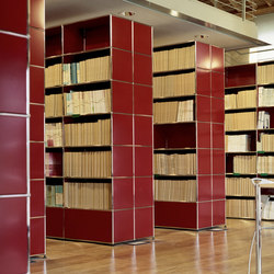 USM Haller Storage 7 | Library shelving systems | USM