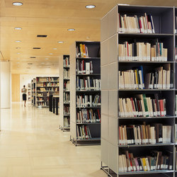 USM Haller Storage | Library shelving systems | USM