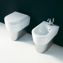 Mini Link wc | bidet + base | Inodoros | Ceramica Flaminia