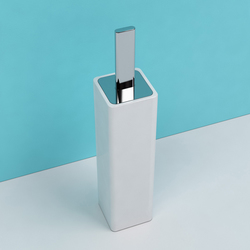 Noke' brush holder | Porte-balais | Ceramica Flaminia