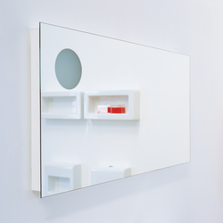 Simple 120 mirror | Wandspiegel | Ceramica Flaminia