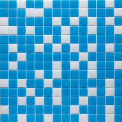 Water Mix - Isla | Glass mosaics | Hisbalit