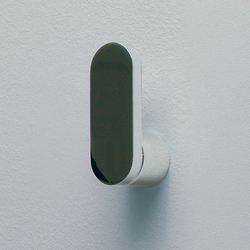 Two towel hook | Handtuchhaken | Ceramica Flaminia