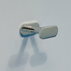 Two 10 towel holder | Ganchos / Colgadores | Ceramica Flaminia