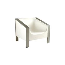Cube Blanco | Garden armchairs | Calma