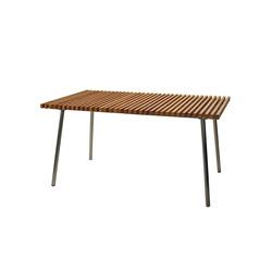 Trama Teak Table | Tavoli da pranzo da giardino | Calma