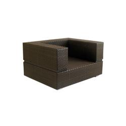 Cubic Stone Armchair | Garden armchairs | Calma