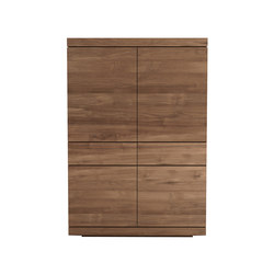 Teak Burger storage cupboard | Armadi | Ethnicraft