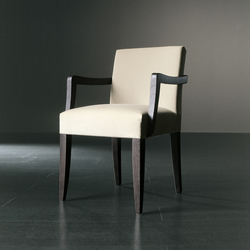 Kerr Due Chair | Visitors chairs / Side chairs | Meridiani