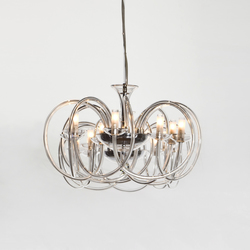 Flow Chandelier | Ceiling suspended chandeliers | Accente