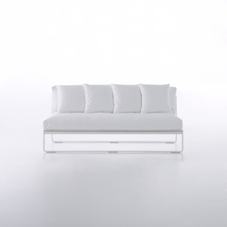 Flat Sofa modular 4 | Gartensofas | GANDIABLASCO