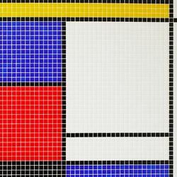 Geometric - Mondrian | Mosaici in vetro | Hisbalit