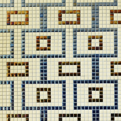Geometric - Rodas | Mosaicos de vidrio | Hisbalit