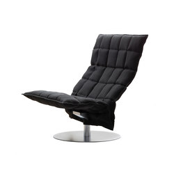 k Chair | wide | Swivel | Sillones | Woodnotes